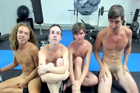 Live Gym guys gangbang gay Tube Performance