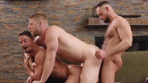 IconMale: Zayne Roman in company with uncle Skyy Knox indoors