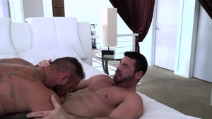 IconMale: Plowing hard with Michael Roman & Billy Santoro