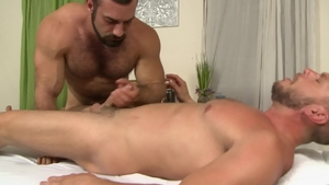 IconMale - Fetish hard ramming next to muscled Jaxton Wheeler