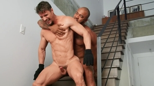 DrillMyHole.com - Jason Vario with brown hair Skyy Knox