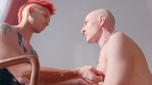 DrillMyHole: Asian Commander Ares in mask handjob indoors