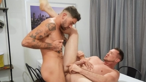 DrillMyHole.com - Boyfriend Archie sucks Chris Damned