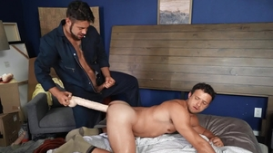 Drill My Hole: Thick Nate Grimes enjoys getting a facial