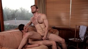 Next Door Buddies - Athletic Jacob Peterson bareback rimming