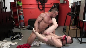DylanLucas - Athletic Myles Landon rough rimming ass pounded