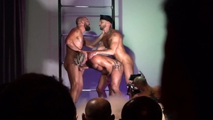Falcon Studios - Hairy Max Duro & Adam Killian in the club