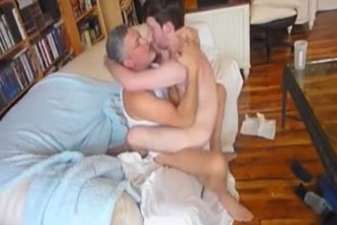 bushy Daddy 3some - ?