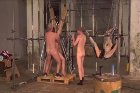 unrepining twinks Tormented And poked In coarse raw Foursome