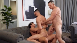 DrillMyHole - Slim Johnny B handjob and Nate Grimes indoor