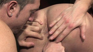 RagingStallion - Muscled latino Donnie Dean first time squirts