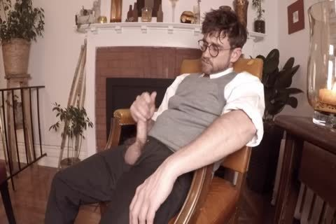Harry Potter Pulls Out His large penis After Magic Lessons
