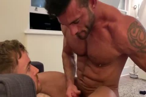 Andy Star With Gabriel Cross And Griffin Barrows