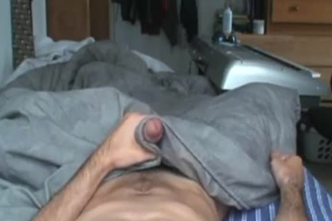 POV webcamera Angle of Hung Amatuer jerking off